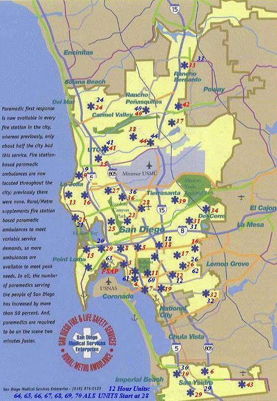 San Diego Fire Map Today.San Diego Map